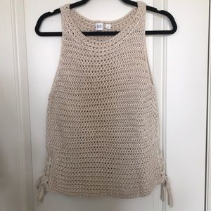 Knit GAP tank top